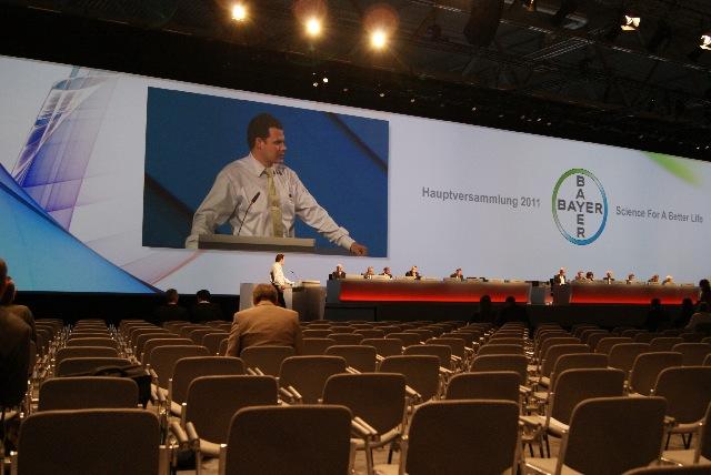 Rede vor der Hauptversammlung
